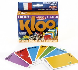 Teach me French with KLOO Card Games