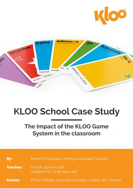 Case Study Of MFL Games In Classroom