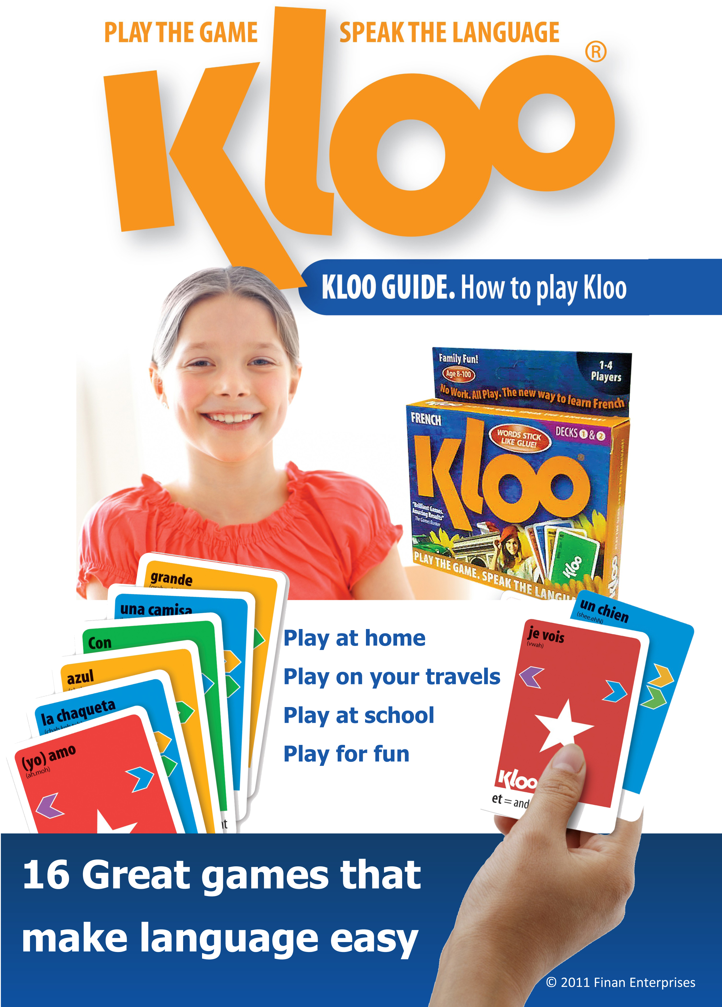 KLOO Guide to French Spanish and Italian Language Games