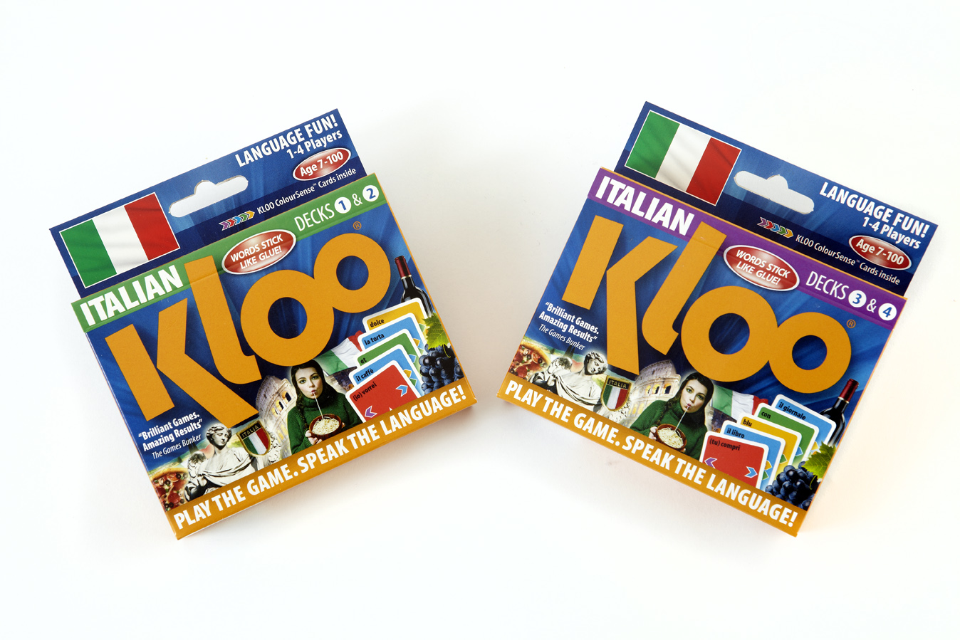Italian Combo (Decks 1, 2, 3 & 4)