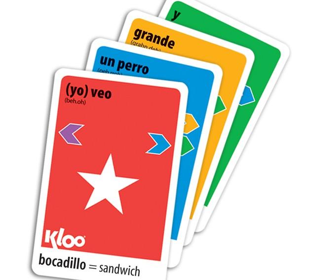 Make a Spanish sentence