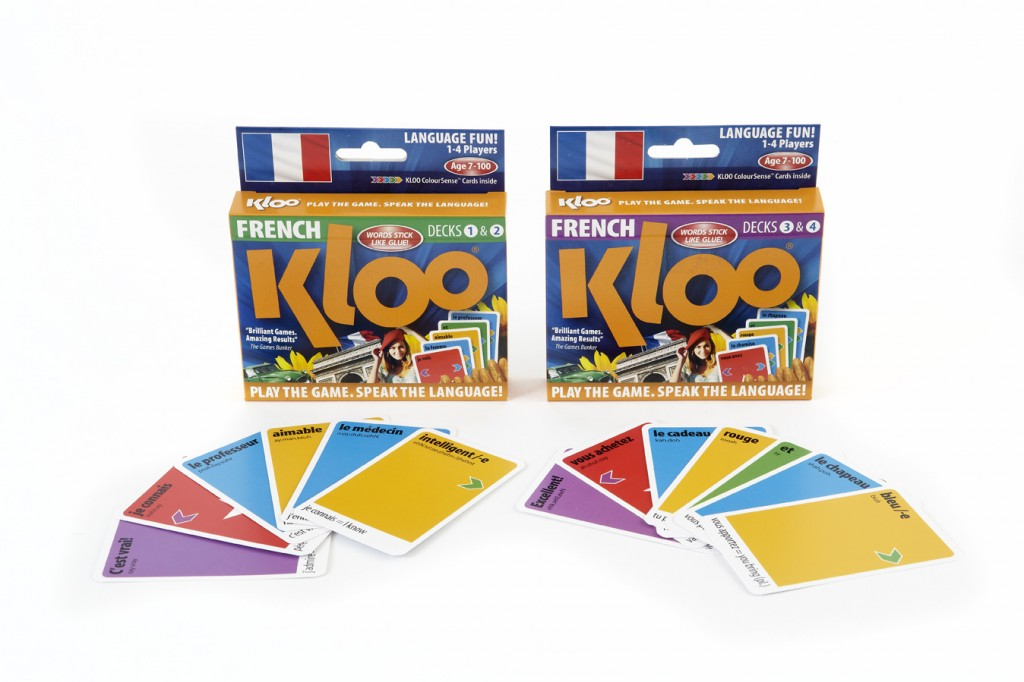 KLOO learn French cards