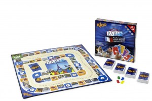 Learn French with Race to Paris best board games