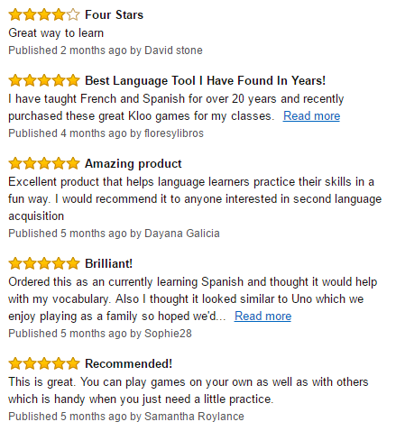 Review KLOO Learn Spanish 2